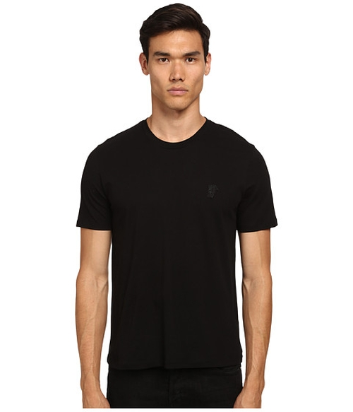 Medusa Logo Crew Neck T-Shirt by Versace Collection in We Are Your Friends
