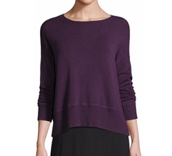 Lightweight Bateau-Neck Top by Eileen Fisher in Fuller House