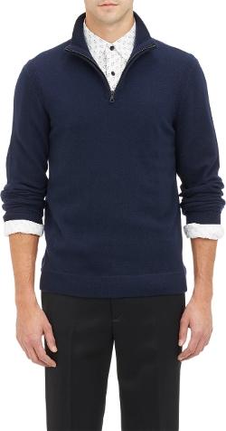 Half-Zip Pullover Sweater by Rag & Bone in Entourage