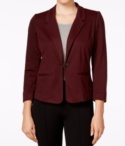 Herringbone Single-Button Blazer by Kensie in How To Get Away With Murder