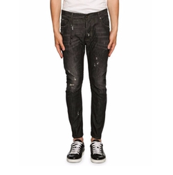 Tidy Biker Distressed Jeans by Dsquared2 in Shadowhunters