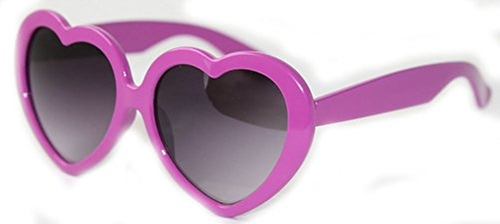Lolita Large Lens Love Heart Shaped Sunglasses by Sun Revival in Neighbors 2: Sorority Rising