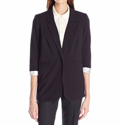 Women's Stretch Crepe Blazer by Kensie in Suits