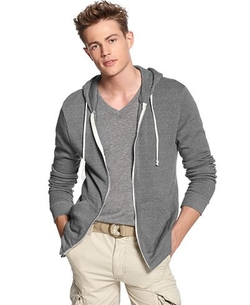 Rocky Zip-Front Hoodie by Alternative Apparel in Silicon Valley