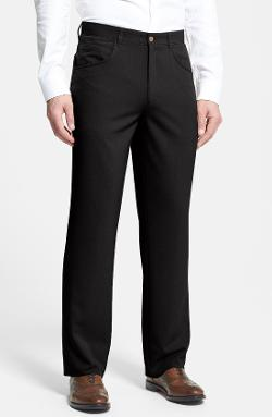'Action' Straight Leg Five Pocket Pants by LINEA NATURALE in This Is Where I Leave You
