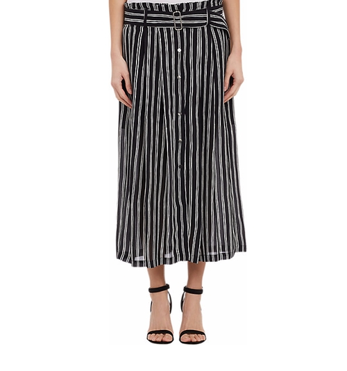 Stripe McDermott Skirt by A.L.C. in Pretty Little Liars - Season 6 Episode 19