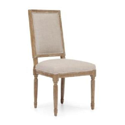 Cole Valley Beige Linen Chair (Set of 2) by ZUO in Oculus