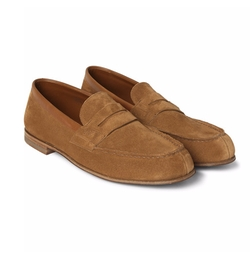 281 Le Moc Suede Loafers by J.M. Weston in Master of None