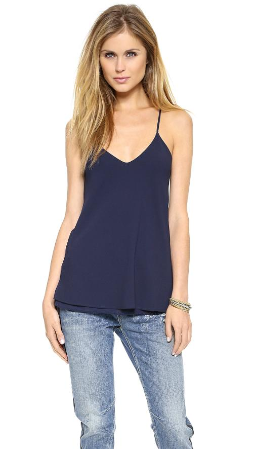 Crepe Low Back Camisole by Cooper & Ella in Beyond the Lights