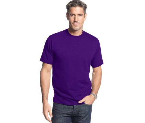 Short Sleeve Crew Neck T Shirt by John Ashford in Wild