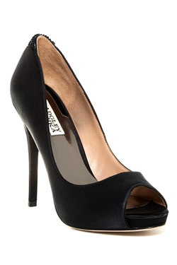 Joey Platform Dress Pump by Badgley Mischka in Rock The Kasbah