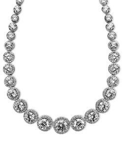 Swarovski Zirconia Necklace by Arabella in Sex and the City