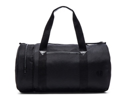 Nylon Barrel Bag by Fred Perry in Spotlight