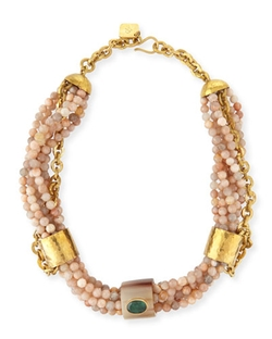 Mchanga Multi-Strand Beaded Necklace by Ashley Pittman in How To Get Away With Murder