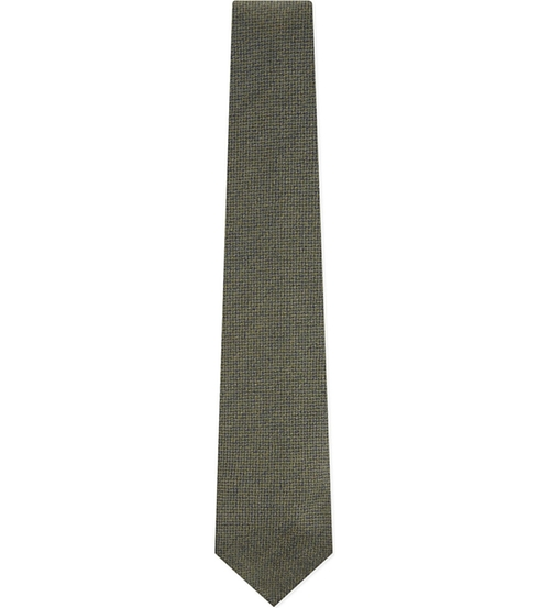 Solid Textured Wool Tie by Drakes in Scandal - Season 5 Episode 9