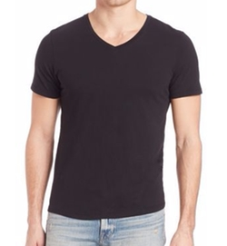 V-Neck T-Shirt by Frame in Mechanic: Resurrection