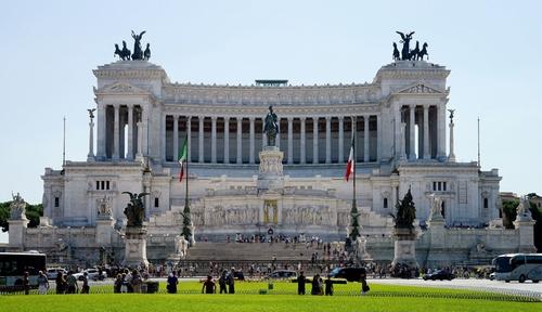 Altare della Patria Rome, Italy in Zoolander 2