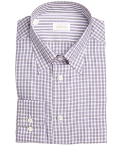 Gingham Button-Down Dress Shirt by Brioni in The Blacklist