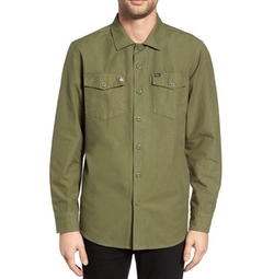 Men's Defense Woven Shirt by Obey in The Defenders