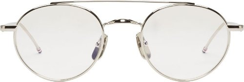 Silver Wire Frame Optical Glasses by Thom Browne in Sex and the City 2