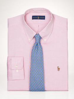 Custom Pinpoint Oxford Shirt by Polo Ralph Lauren in Dumb and Dumber To