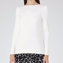 Erol Long-Sleeved Jersey Top by Reiss in House of Cards