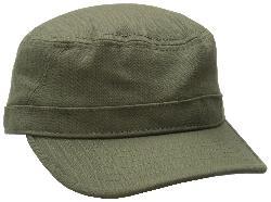 Men's Herringbone Military Cap by Ben Sherman in Sabotage