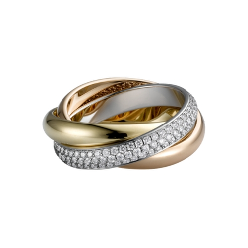 Trinity de Cartier Ring by Cartier in The Other Woman