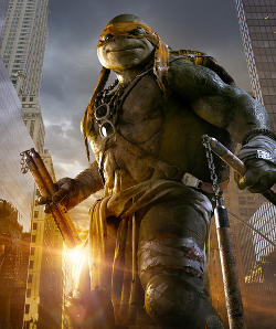 Michelangelo by I. Javier Ameijeiras (Concept Illustrator) in Teenage Mutant Ninja Turtles (2014)