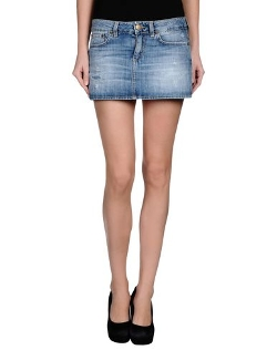 Denim Skirt by Dondup in The Longest Ride
