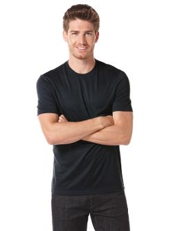 LUXE CREW KNIT TEE by PERRY ELLIS in Walk of Shame