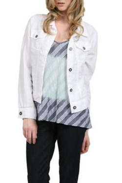 Cotton Denim Jacket by Styles Boutique in Knocked Up