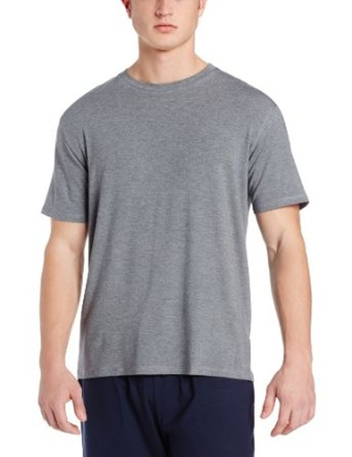 Men's Crew Neck Knit Lounge T-Shirt by Derek Rose in Neighbors