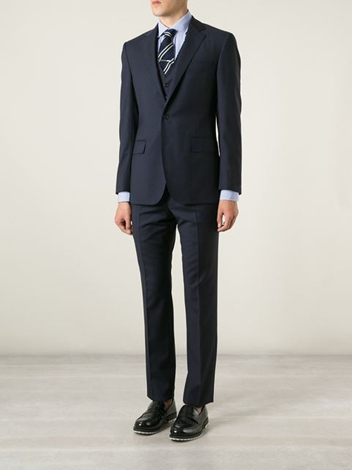Three Piece Suit by Polo Ralph Lauren in Suits - Season 5 Episode 1
