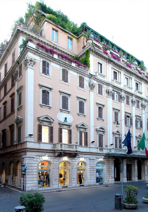 Grand Hotel Plaza Rome, Italy in The Man from U.N.C.L.E.