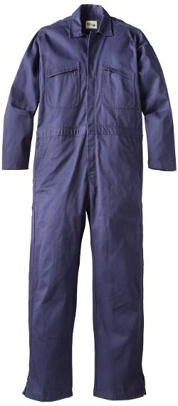 Men's All Cotton Deluxe Long Sleeve Coverall by Key Apparel in Hot Tub Time Machine 2