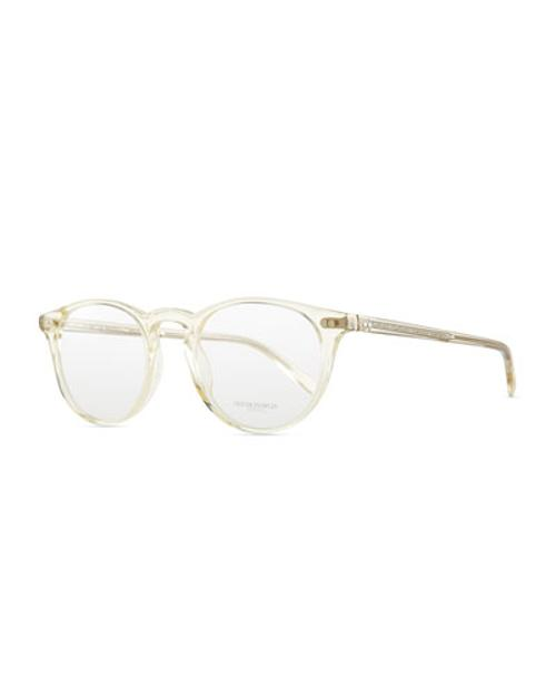 Riley Clear Men's Fashion Glasses by Oliver Peoples in The Other Woman