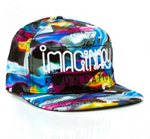 Paint Snapback Hat by Imaginary Foundation in We Are Your Friends