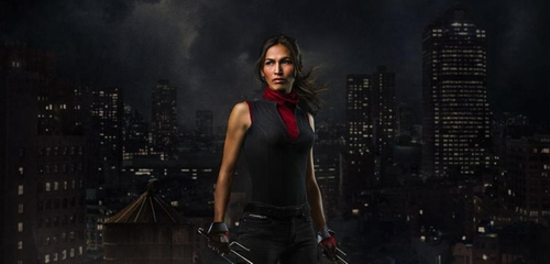 Custom Made Elektra Costume by Stephanie Maslansky (Costume Designer) in Daredevil - Season 2 Preview