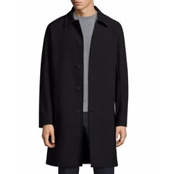 Porter HL Kingward Single-Breasted Top Coat by Theory in Quantico