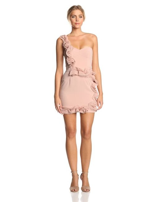 Women's Camielle One Shoulder Dress by BCBGMAXAZRIA in The Loft
