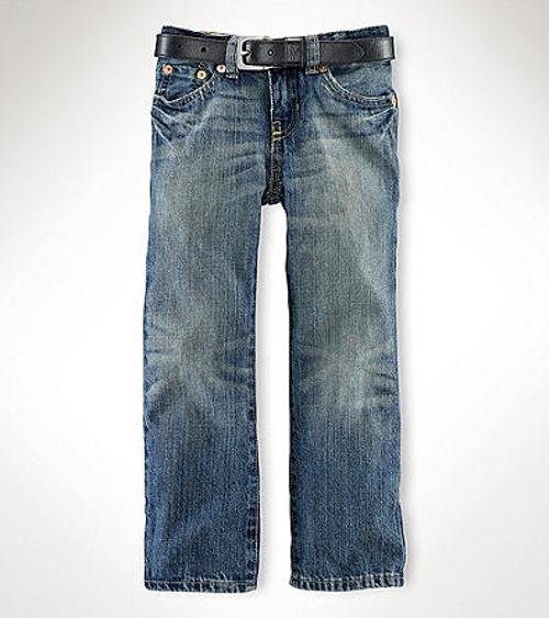 Boys' Mott Wash Slim Fit Jeans by Ralph Lauren Childrenswear in Masterminds