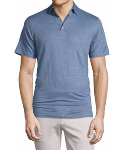 Summertime Short-Sleeve Polo Shirt by Peter Millar in Lethal Weapon