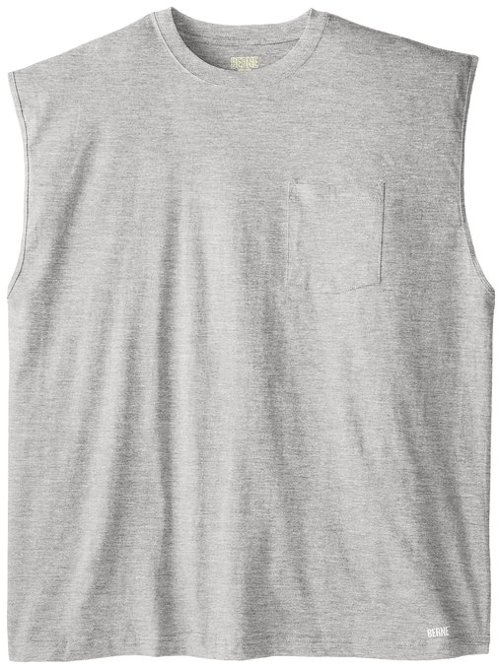 Men's Sleeveless Pocket Tee Shirt by Berne in The Matrix