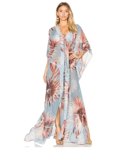 Maxi Flower Kaftan by Adriana Degreas in Grace and Frankie
