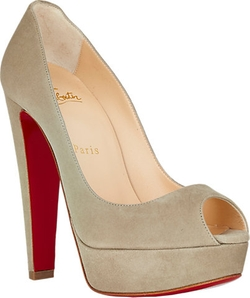 Altanana Platform Pumps by Christian Louboutin in Empire