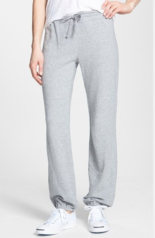 Vintage Fleece Sweatpants by James Perse in The Best of Me