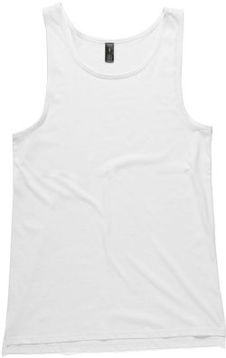 Mens Typo Tank Top by AS Colour in McFarland, USA