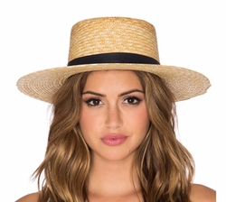 Klint Hat by Janessa Leone in The Layover