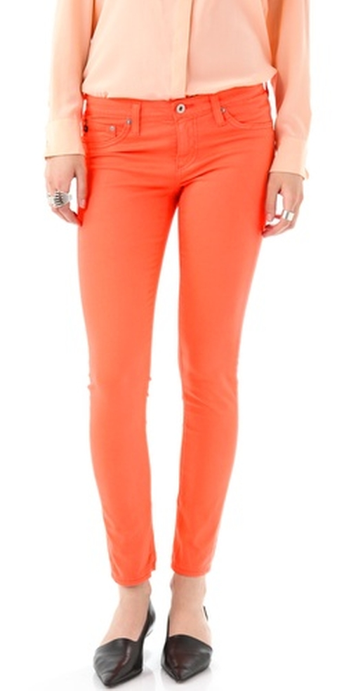 Super Skinny Ankle Legging Jeans by AG Adriano Goldschmied in Pretty Little Liars